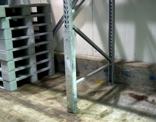 Galvanised Foam Filled Column Guard